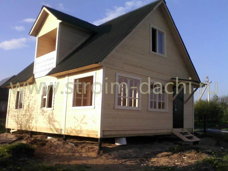 Пермь - каркасные дома под ключ, строительство недорогих кар.