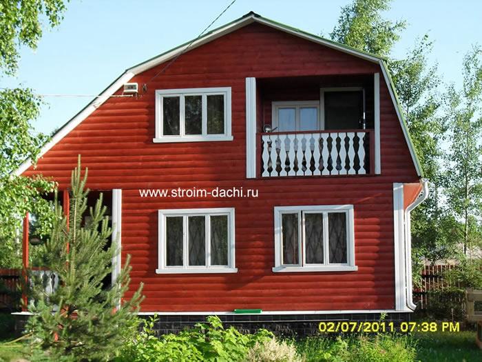 Проекты загородных домов - коттеджей, кирпичный дом - 651