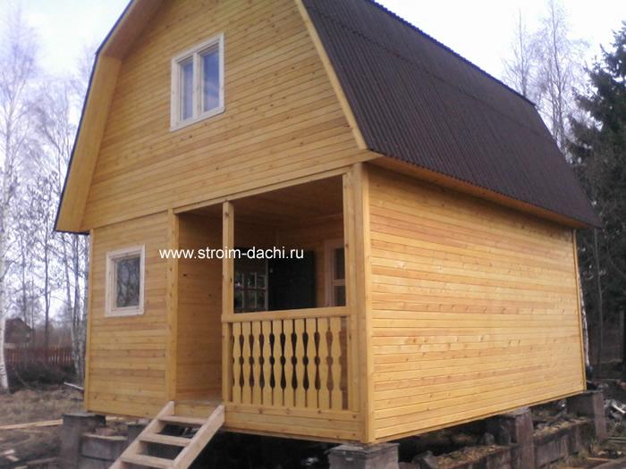 Дачный домик своими руками 5х5 36