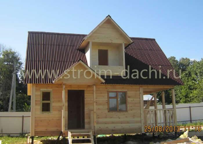 Проекты домов из пеноблоков от 100 до 150 кв м в Москве