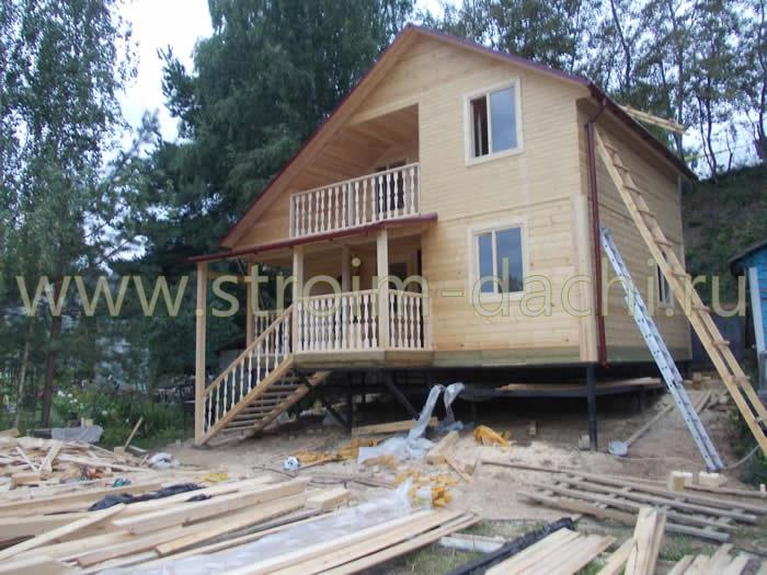 Каркасно-щитовые дома в Крыму: проекты для строительства с